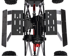 SCX10 II Full Alloy Chassis/Body Set 313mm Wheelbase