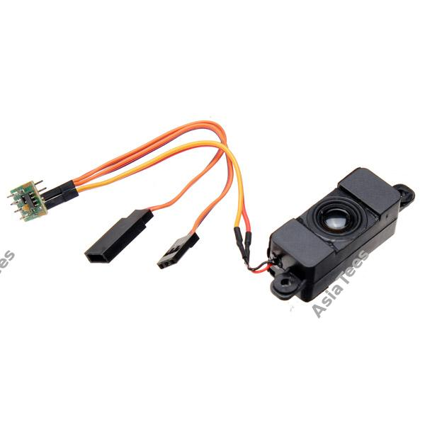 Micro Model Petrol Sound Unit Kit For RC Crawler