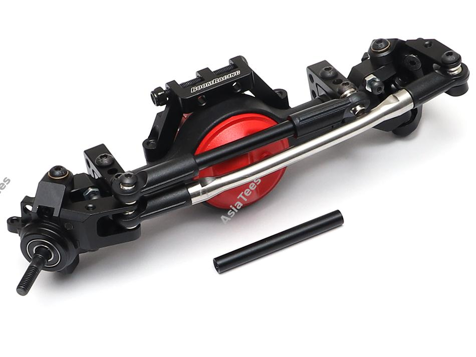 Complete Narrow Front Assembled BRX70 PHAT Axle Set w/ AR44 HD Gears