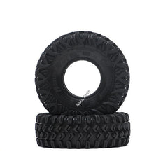 "Xtreme 1.55"" BABY Rock Crawling Tires 3.74x1.3 SNAIL SLIME™ Compound W/ Open Cell Foams (Super Soft) 2pcs"