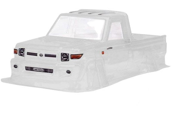 LC70 Clear Lexan 1/10 Crawler Body For 313mm Chassis
