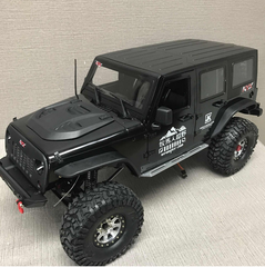 Jeep Wrangler Body Set 4 Door 1/10 Scale (313mm Wheelbase)