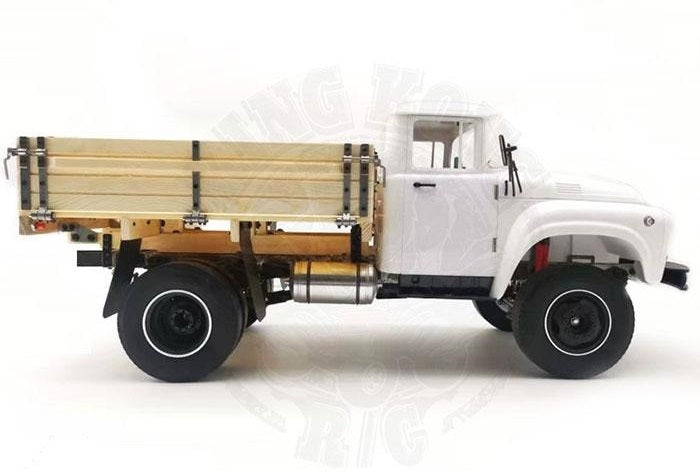 King Kong RC 1/12 ZL130 4x2 Tractor Truck Chassis Kit w/ Wooden Bed for ZL-130