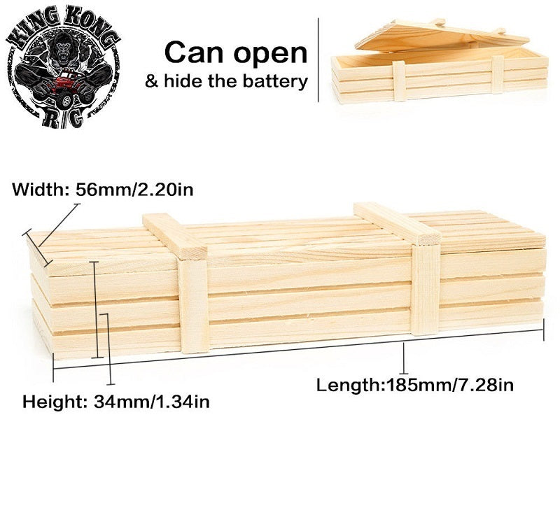 Truck Bed Storage / Battery Box (Wooden)