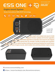 ESS-ONE-PLUS 2017 Engine Sound System Fully Programmable