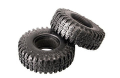 "MHPC 1/10 Crawler Tire Set 1.9"" with Foam Insert for RC Crawlers One Pair"