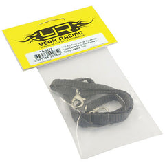 1/10 RC Rock Crawler Accessories Nylon Cable Strap With Buckle and Spring Loaded Hook