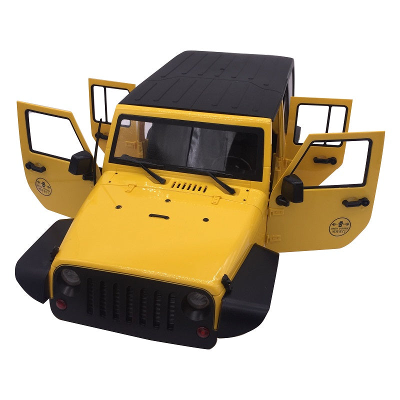 Jeep Wrangler Body Set 4 Door 1/10 Scale (313mm Wheelbase