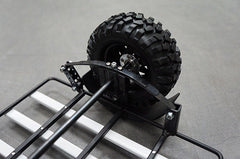 1/10 Metal Leaf Spring Hitch Mount Motorcycle Trailer For Crawler/Scaler