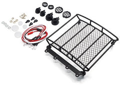 1/10 RC Rock Crawler Accessories Metal Mesh Wire Roof Rack