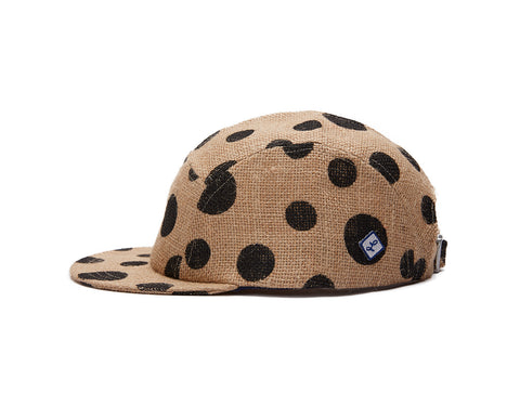Dotted Burlap 5 Panel