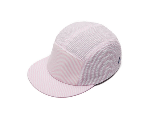 Pink Seersucker 5 Panel