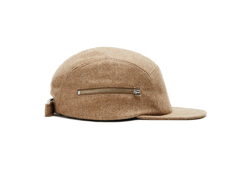 Camel Merino Zip 5 Panel