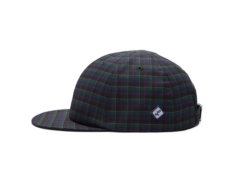 Burgundy Check Baseball