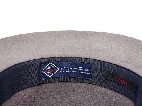 THE GIGI X LAROSE Grey Traveller Rollable hat