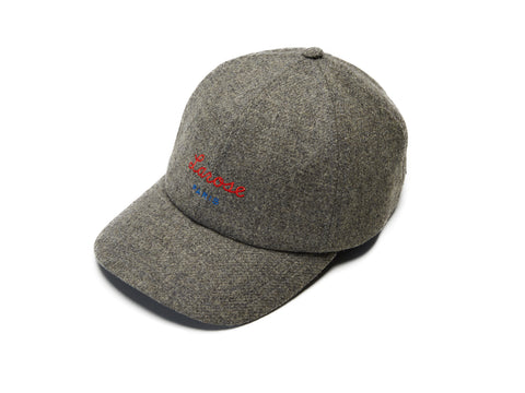 Grey Merino Logo Baseball