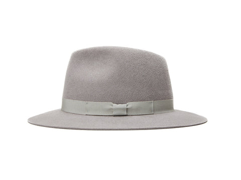 Grey Small Fedora
