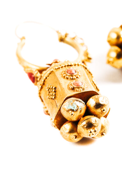 Golden Temple Earrings