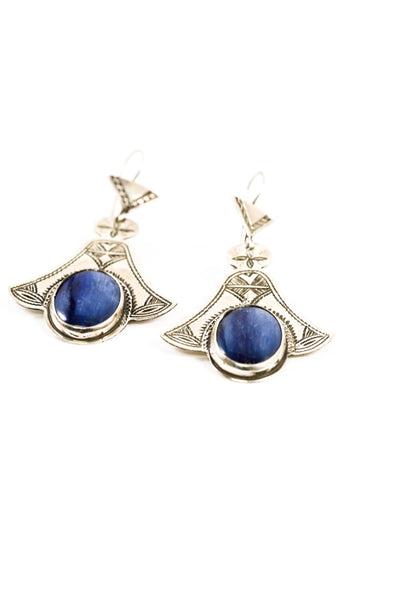 Kyanite Winged Earring