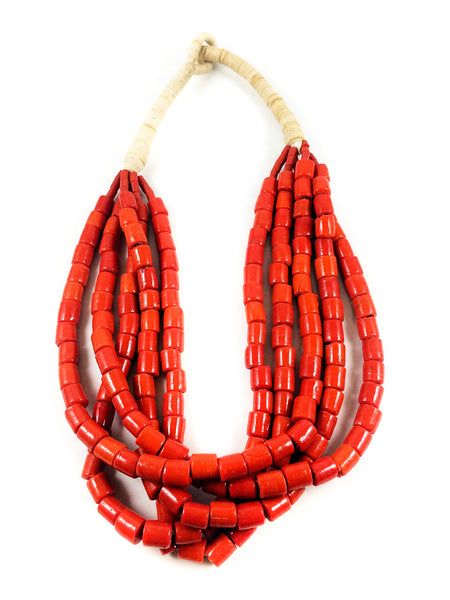 Bound Coral Necklace