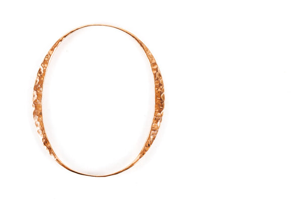 Geometric Copper Bangles