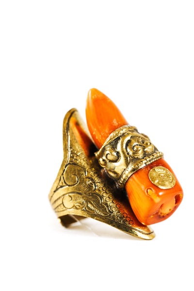 Nepali Branch Coral Ring