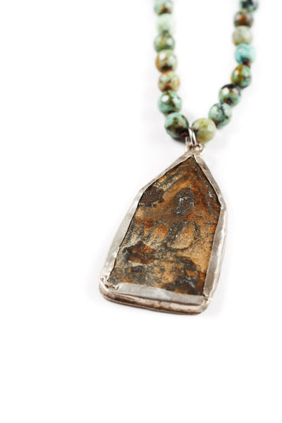 Stone Amulet Necklace