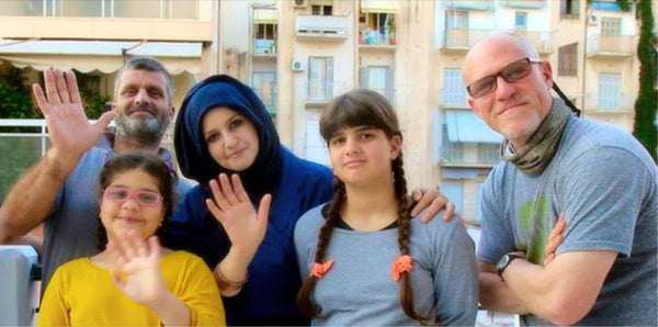 Sara, Hala and their parents