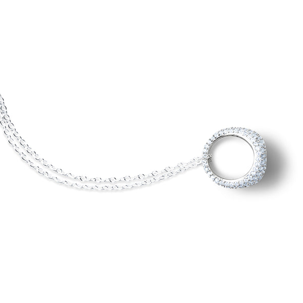 AMAL Pave Ring Necklace