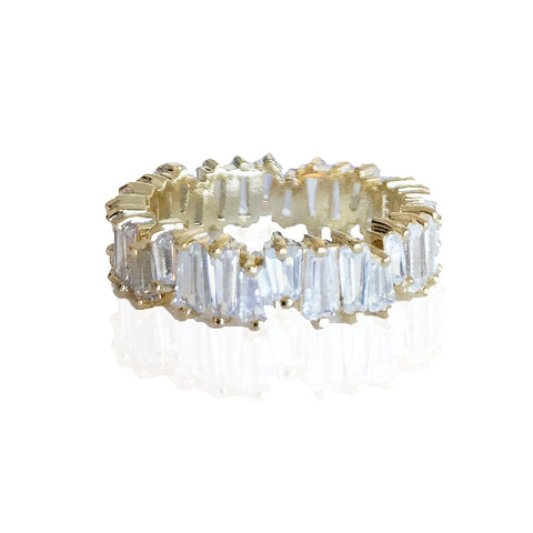 ESSIA BAGUETTE GOLD RING