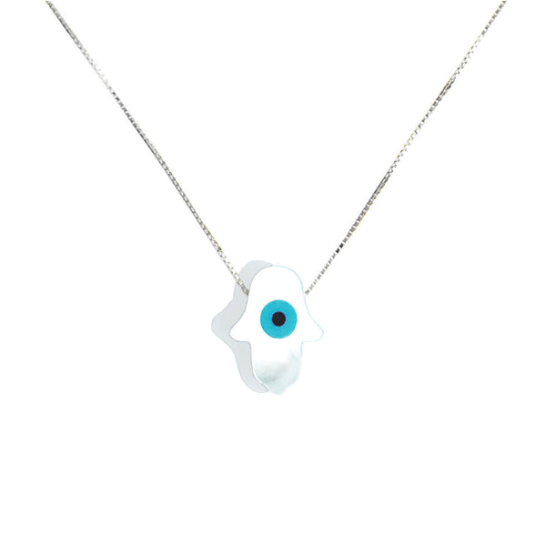 FATIMA EVIL EYE NECKLACE