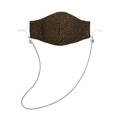 KATALELLA Diamond Embroidered Face Mask