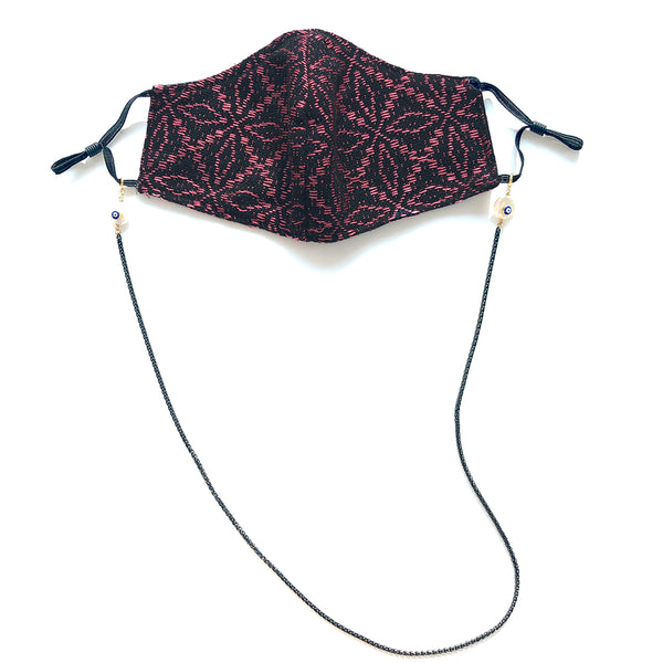 KATALELLA Leaves Embroidered Face Mask
