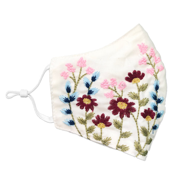 LEE Embroidered Chrysanthe Face Mask