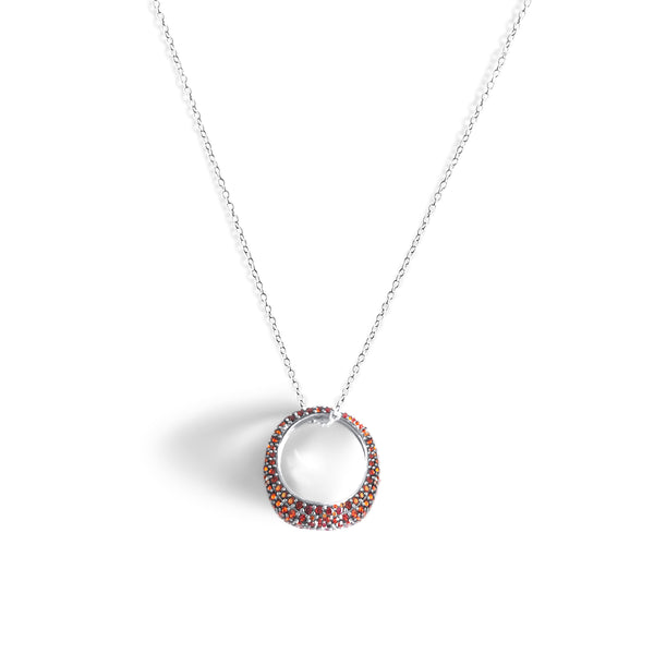 OANA Pave Ring Necklace