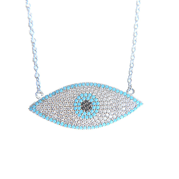 HEDIA EVIL EYE NECKLACE