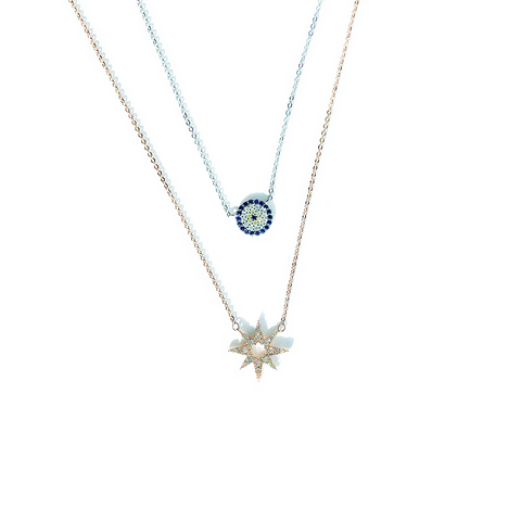 SOLARA SUN RAYS NECKLACE
