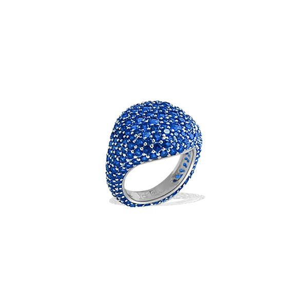 MICAH Blue Pinky Ring