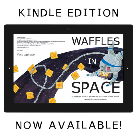 Waffles in Space Kindle Edition