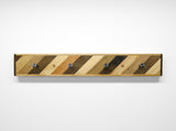 Diagonal Coat Rack