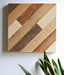 Diagonal Pattern Wall Art