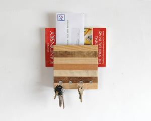 Entryway Mail and Key Organizer - Horizontal Pattern