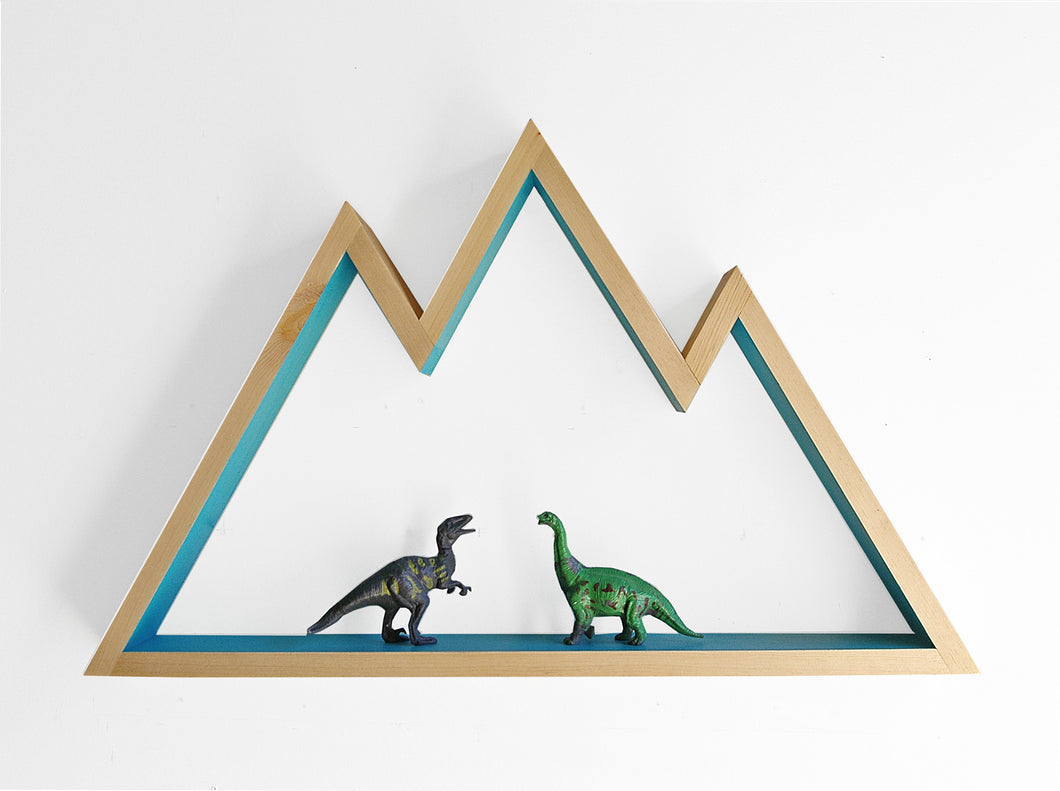 Mountain Shelf / Wall Hanging Art (LARGE)