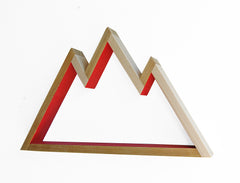 Mountain Shelf / Wall Hanging Art (small)