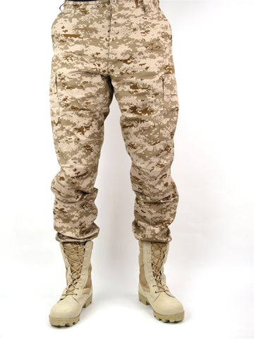 NS BDU PANT ACU DIGITAL SMALL SAND