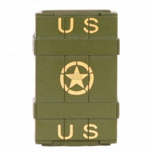 Ammo box crate shaped butane lighter