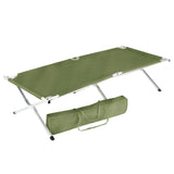 NS army green Cot Aluminum and Carry Case