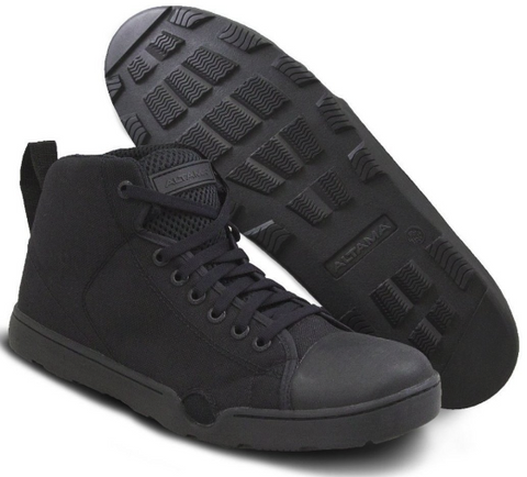 NAVY SEALS MARITIME ASSAULT MID BLACK SHOE