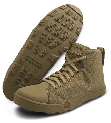 NAVY SEALS MARITIME ASSAULT MID COYOTE SHOE
