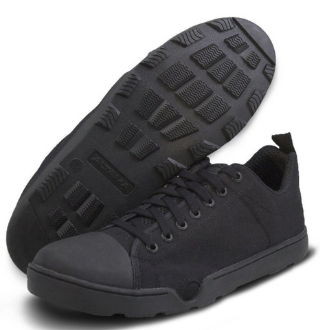 NAVY SEALS MARITIME ASSAULT LOW BLACK SHOE